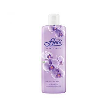 FLORE ครีมอาบน้ำฟลอเร่ สูตร Orchid Moisture (ออร์คิด มอยส์เจอร์) 200 มล.
