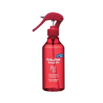 Free & Free เซรั่มบำรุงผม ฟรีแอนด์ฟรี สูตรสำหรับ ผมทำสี (ชนิดน้ำ) (สีแดง) แบบขวดสเปรย์ 210 มล.