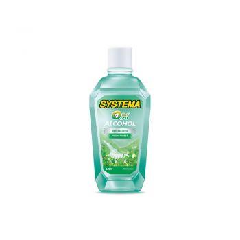SYSTEMA น้ำยาบ้วนปาก สูตร Fresh Forest ไม่มีแอลกอฮอล์ 80 มล.