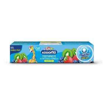 KODOMO ยาสีฟันเด็ก โคโดโม ชนิดเจล สูตรอัลตร้า ชิลด์ กลิ่นบับเบิ้ลฟรุ๊ต 40 กรัม