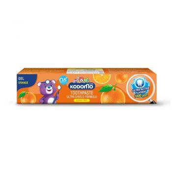 KODOMO ยาสีฟันเด็ก โคโดโม ชนิดเจล สูตรอัลตร้า ชิลด์ กลิ่นส้ม 40 กรัม
