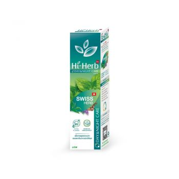 Hi-Herb ยาสีฟัน ไฮเฮิร์บ Day & Night Care สูตร Swiss Herb 120 กรัม