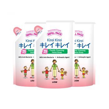 [แพ็ค 3] KIREI KIREI โฟมล้างมือ คิเรอิ คิเรอิ สูตรออริจินัล (ถุงเติม) 200 มล.