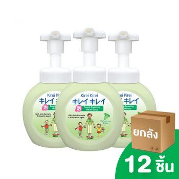 [ยกลัง]  KIREI KIREI โฟมล้างมือ คิเรอิ คิเรอิ กลิ่นองุ่น หอมสดชื่น REFRESHING GRAPE 250 มล. 12 ชิ้น