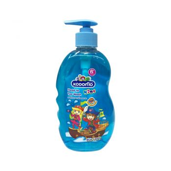 KODOMO โคโดโม เฮดทูโท คิดส์ อาบน้ำ และ สระผม กลิ่น บลูแคนดี้ (Blue Candy) 400 มล.