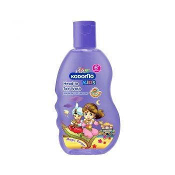 KODOMO โคโดโม เฮดทูโท คิดส์ อาบน้ำ และ สระผม กลิ่น Magic Purple 200 มล.