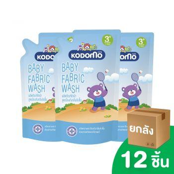 [ยกลัง] KODOMO ผลิตภัณฑ์ ซักผ้าเด็ก โคโดโม สูตรป้องกันกลิ่นอับชื้น 600 มล.12 ชิ้น