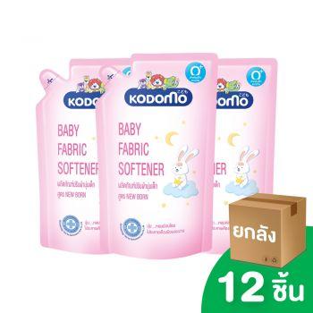 [ยกลัง] KODOMO ผลิตภัณฑ์ ปรับผ้านุ่มเด็ก โคโดโม NEW BORN 600 มล. 12 ชิ้น