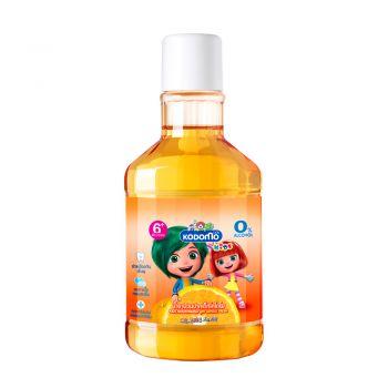KODOMO น้ำยาบ้วนปากเด็ก โคโดโม กลิ่นส้ม 250 ml