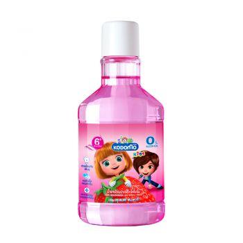 KODOMO น้ำยาบ้วนปากเด็ก โคโดโม กลิ่นสตรอว์เบอร์รี่ 250 ml