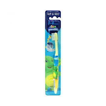 KODOMO แปรงสีฟันเด็ก โคโดโม Soft & Slim 3-6 ปี