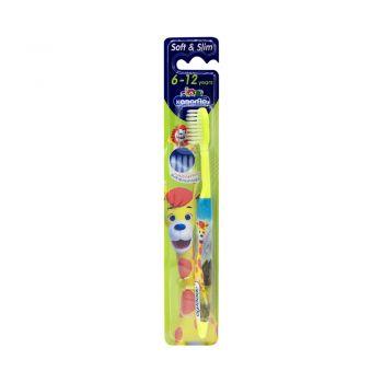 KODOMO แปรงสีฟันเด็ก โคโดโม  Soft & Slim 6-12 ปี