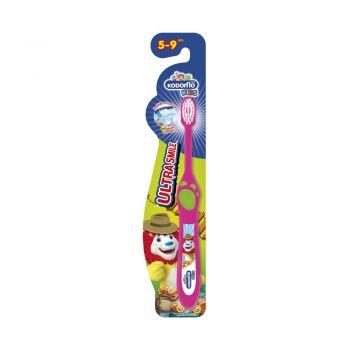 KODOMO แปรงสีฟัน โคโดโม ULTRA SMILE สำหรับ 5-9 ปี 1 ด้าม (คละสี คละแบบ)
