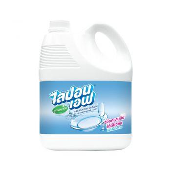 Lipon F ผลิตภัณฑ์ น้ำยาล้างจาน ไลปอน เอฟ สูตรอนามัย 3600 ml.