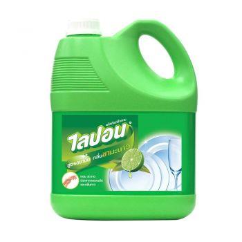 Lipon F ผลิตภัณฑ์ น้ำยาล้างจาน ไลปอน กลิ่นชามะนาว  3600 ml.