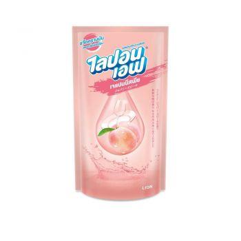 Lipon F น้ำยาล้างจาน ไลปอนเอฟ เจแปนนิสพีช (ชนิดถุงเติม) 500 ml