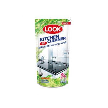 LOOK ผลิตภัณฑ์ ทำความสะอาด ห้องครัว ลุค 400 มล. ถุงเติม