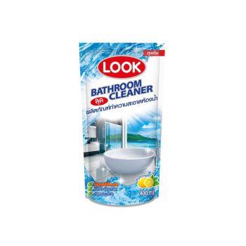 LOOK ผลิตภัณฑ์ ทำความสะอาด ห้องน้ำ ลุค 400 มล. ถุงเติม