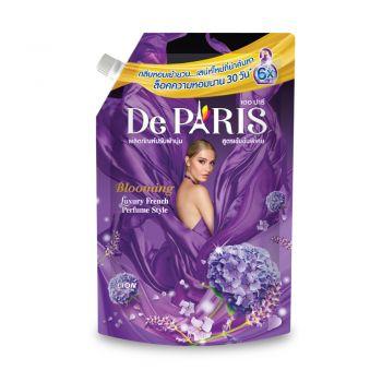 De Paris ผลิตภัณฑ์ ปรับผ้านุ่ม เดอ ปารี สูตร BLOOMING กลิ่นหอมเย้ายวนโรแมนติก ชนิดถุงเติม 540 มล.