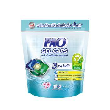 PAO GEL CAPS ผลิตภัณฑ์ ซักผ้า เปา เจลแคป 140 กรัม ถุงเติม.