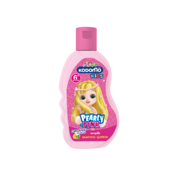 KODOMO โคโดโม คิดส์ แชมพู สำหรับเด็ก 2 in 1 เพิร์ลลี่พิงค์ (Pearly Pink) 200 มล.
