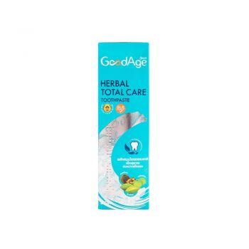 GoodAge ยาสีฟัน กู๊ดเอจ เฮอร์เบิล โททัล แคร์ สูตรตรีผลา 90 กรัม