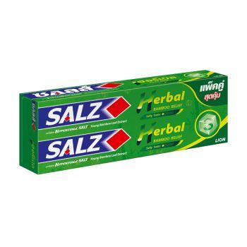 SALZ ยาสีฟัน ซอลส์ เฮอร์เบิล แบมบู รีลีฟ (แพ็คคู่) 160 กรัม