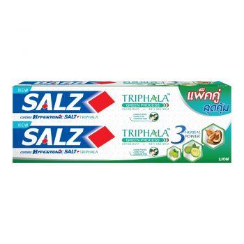 SALZ ยาสีฟัน ซอลส์ ตรีผลา 160 กรัม 2 กล่อง (แพ็คคู่)