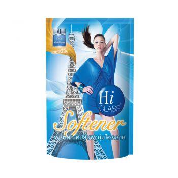 HI CLASS ผลิตภัณฑ์ ปรับผ้านุ่ม ไฮคลาส สูตรมาตรฐาน กลิ่น Blue Heaven 550 มล. ชนิดถุงเติม