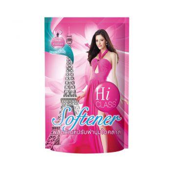 HI CLASS ผลิตภัณฑ์ ปรับผ้านุ่ม ไฮคลาส สูตรมาตรฐาน กลิ่น Sweet Passion 550 มล. ชนิดถุงเติม