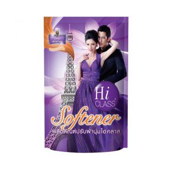 HI CLASS ผลิตภัณฑ์ ปรับผ้านุ่ม ไฮคลาส สูตรมาตรฐาน กลิ่น Sensual Romance 550 มล. ชนิดถุงเติม
