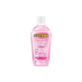 SYSTEMA Quick Care น้ำยาบ้วนปาก ซิสเท็มมา สูตร Japanese Cherry Blossom 80 มล