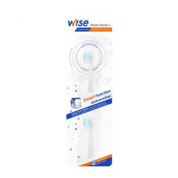 Wise Smart Sonic หัวแปรงสีฟัน ไฟฟ้า (สำหรับ แปรงสีฟัน ไฟฟ้า Wise Smart Sonic) 1 แพ็ค (2หัว)