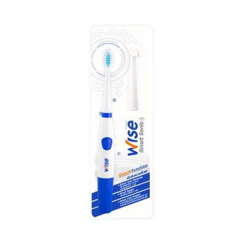 Wise Smart Sonic แปรงสีฟัน ไฟฟ้า Wise Smart Sonic (สีน้ำเงิน) 1 ด้าม