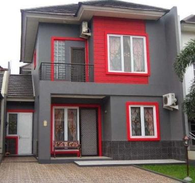 Kombinasi Warna Cat Gedung  penting inilah kombinasi warna cat agar rumah terlihat
