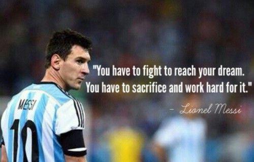 Kumpulan Kata Kata Bijak Dari Lionel Messi Tentang Hidup Dan