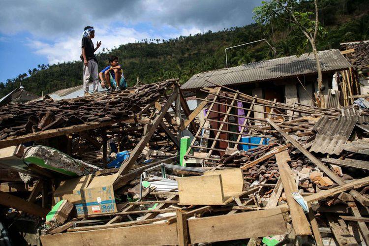 #IniIndonesiaku Lombok Pecahkan Rekor Gempa Susulan Terbanyak Sedunia Menurut.