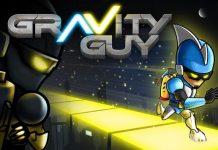 Game Gravity Guy merupakan salah satu game lucu di andorid
