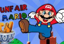 Game Unfair Mario untuk melatih kesabaran