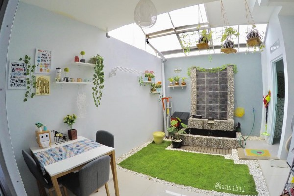 Tips Membuat Taman Minimalis Dalam Ruangan Tertutup Doripos