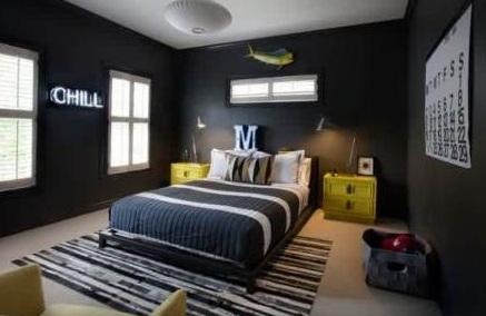 9 Desain Kamar Tidur Warna Gelap Untuk Tidur Nyenyak Anda Doripos