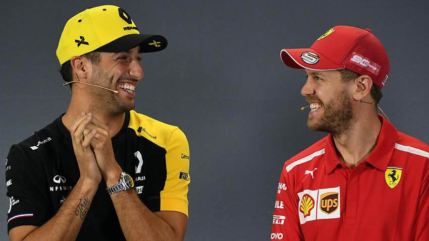Ricciardo yakin Vettel akan kembali menang