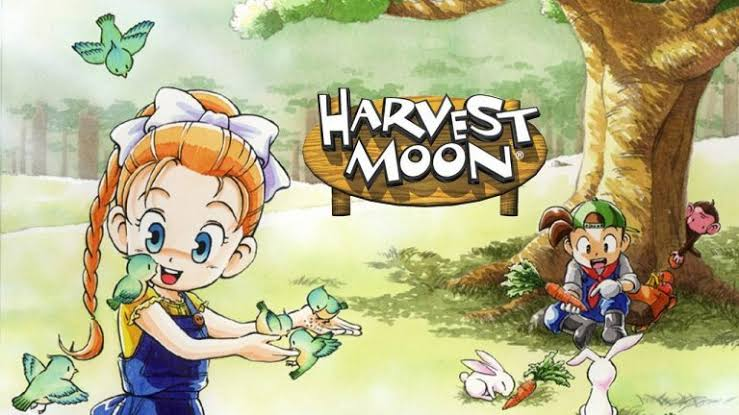 Macam-macam game Harvest moon