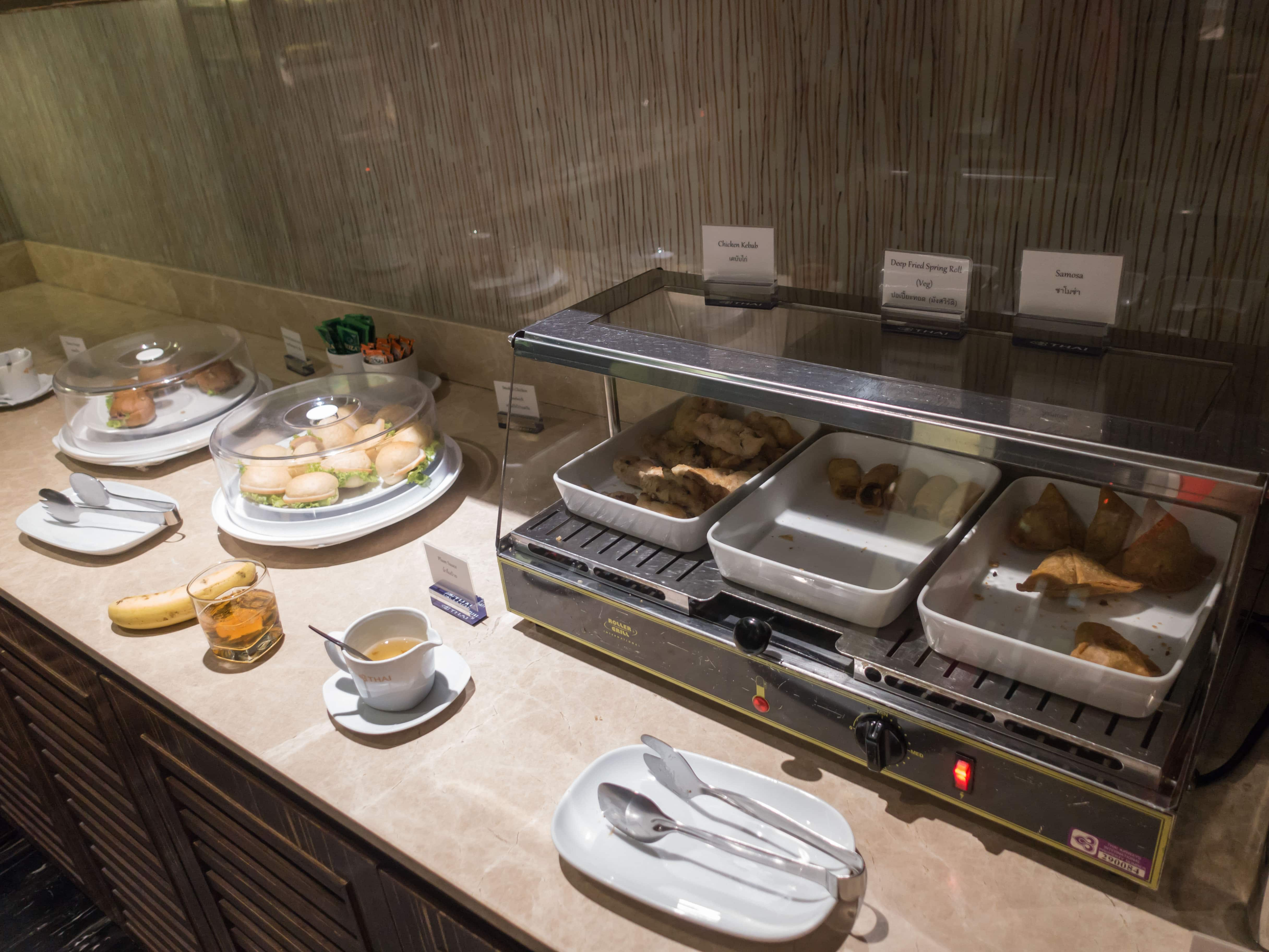 Review: Thai Airways Royal Orchid Lounge Bangkok Suvarnabhumi Review