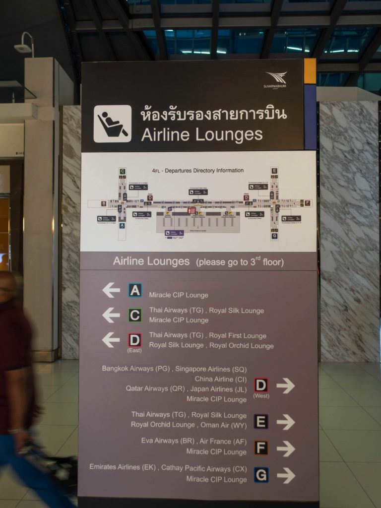 Airline Lounge Map