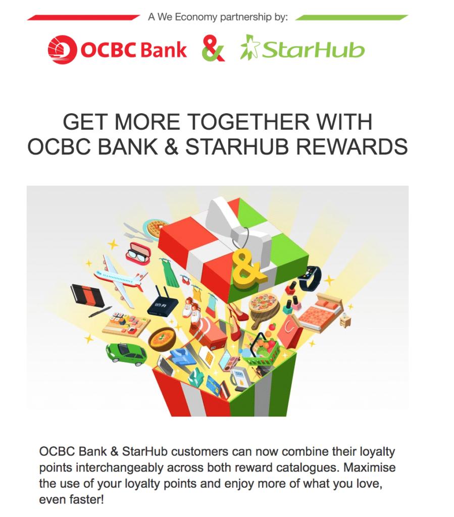 OCBC & StarHub partnership