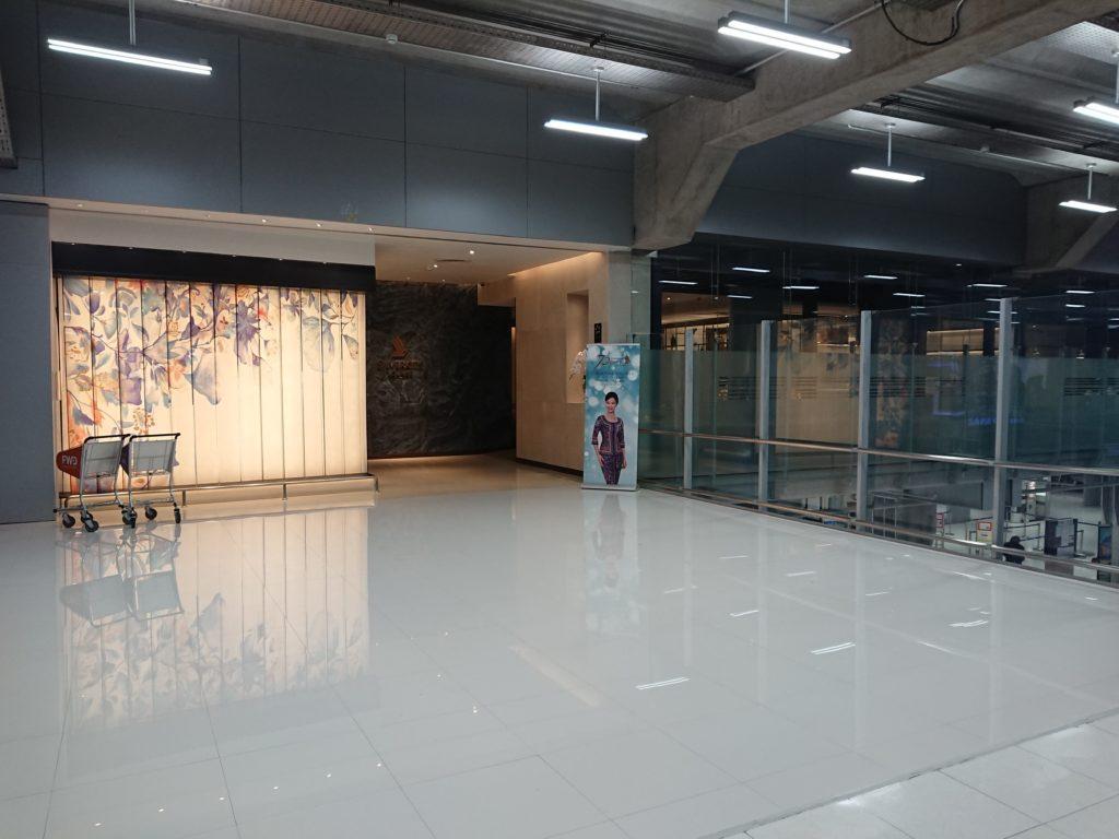 Exterior of SilverKris lounge Bangkok