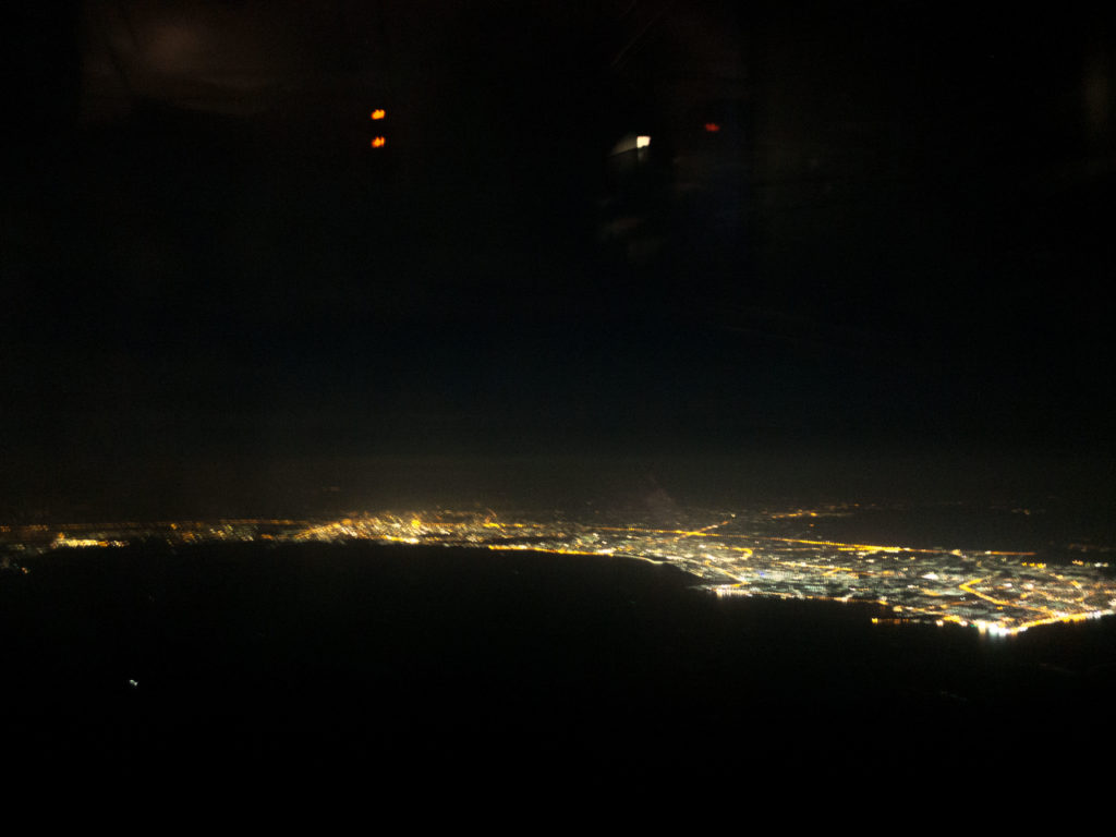 View of Thailand shortly after take off