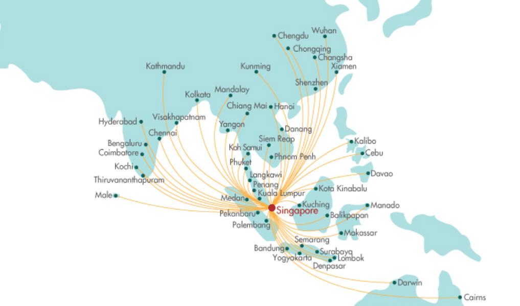 SilkAir will transfer 17 routes to Scoot- is this bad news ...