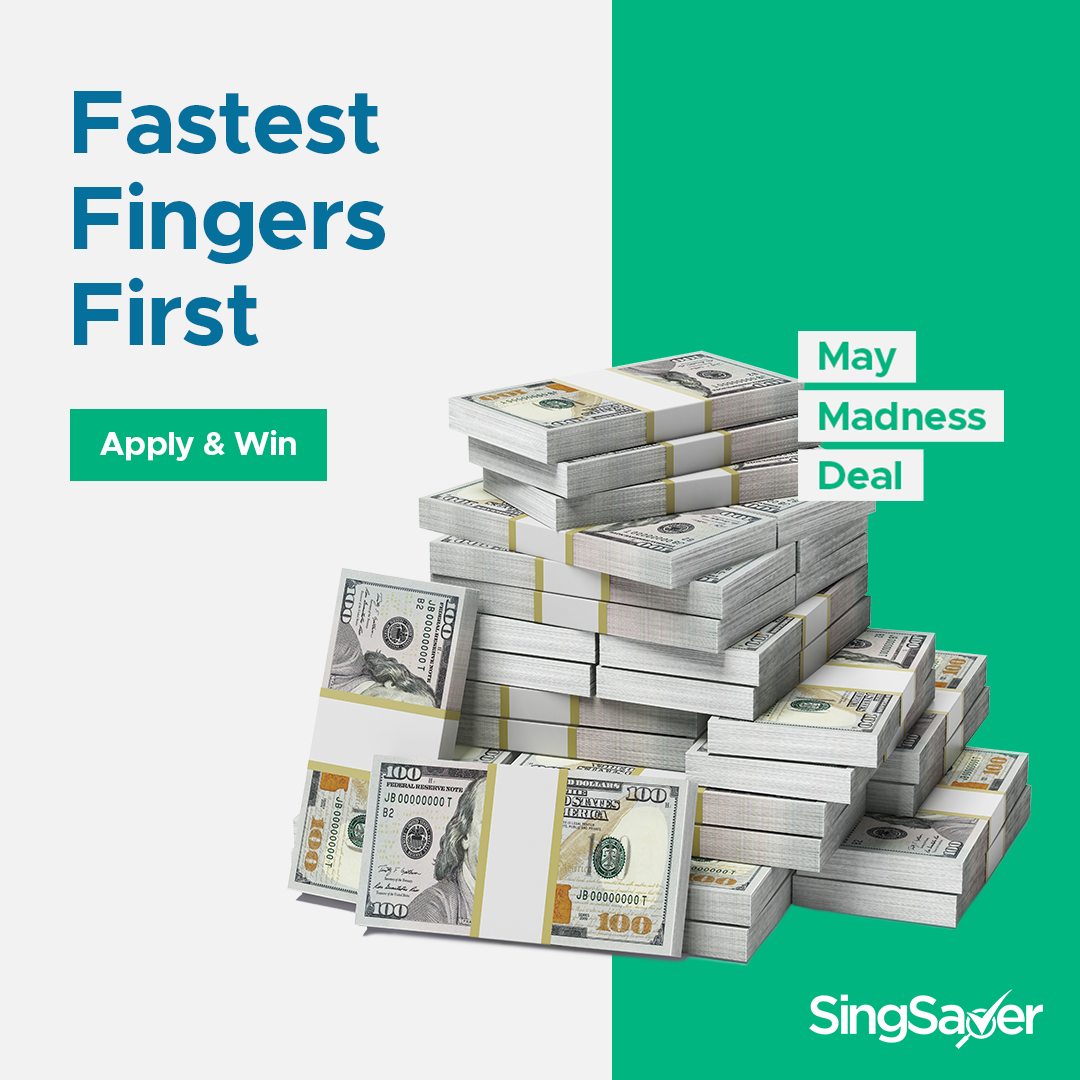 SingSaver May Madness: Apply For A Citibank Credit Card